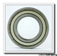 110 mm x 170 mm x 28 mm  NKE 6022 deep groove ball bearings