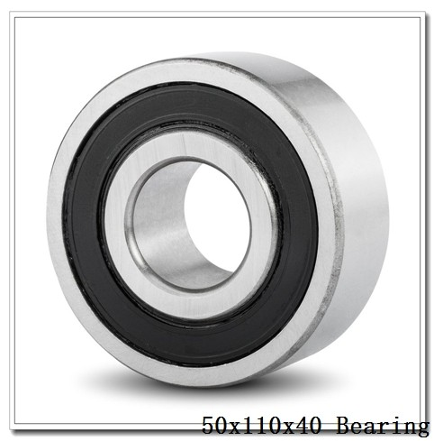 50 mm x 110 mm x 40 mm  NKE NU2310-E-MA6 cylindrical roller bearings