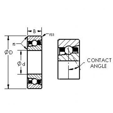 AST H7022AC/HQ1 angular contact ball bearings