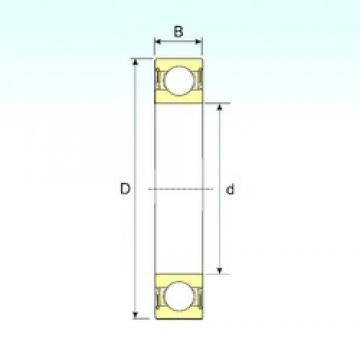 40 mm x 62 mm x 12 mm  ISB 61908-2RS deep groove ball bearings
