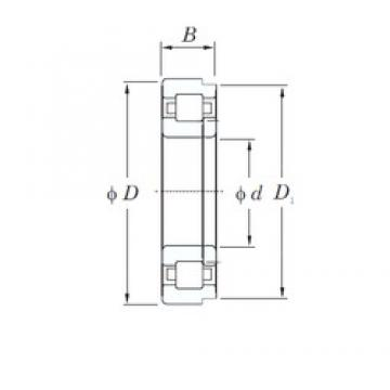 30 mm x 62 mm x 16 mm  KOYO NUP206 cylindrical roller bearings