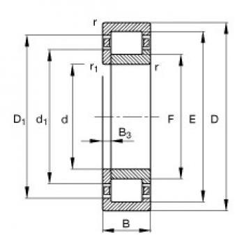 30 mm x 62 mm x 16 mm  FAG NUP206-E-TVP2 cylindrical roller bearings