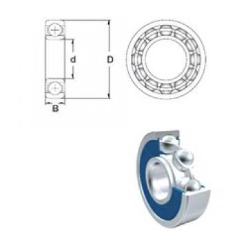110 mm x 170 mm x 28 mm  ZEN S6022-2RS deep groove ball bearings