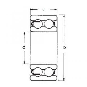 50 mm x 110 mm x 40 mm  FBJ 4310-2RS deep groove ball bearings