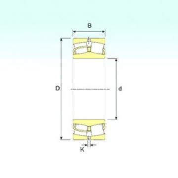 220 mm x 400 mm x 108 mm  ISB 22244 spherical roller bearings