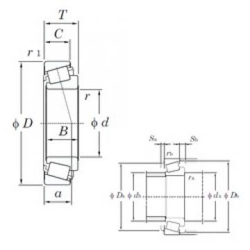 57,15 mm x 104,775 mm x 29,317 mm  KOYO 469/453X tapered roller bearings