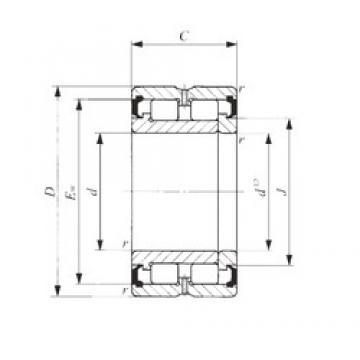 60 mm x 85 mm x 25 mm  IKO NAG 4912UU cylindrical roller bearings