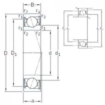 40 mm x 62 mm x 12 mm  SNFA VEB 40 /S 7CE3 angular contact ball bearings