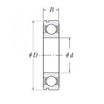 40 mm x 62 mm x 12 mm  CYSD 6908N deep groove ball bearings