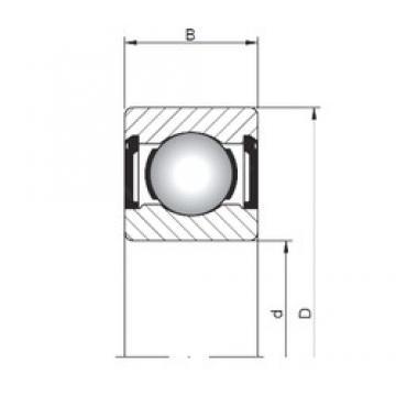9 mm x 20 mm x 6 mm  Loyal 619/9 ZZ deep groove ball bearings