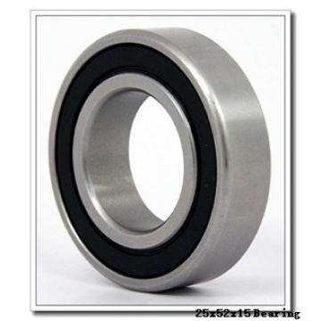 25 mm x 52 mm x 15 mm  NSK NJ205EM cylindrical roller bearings