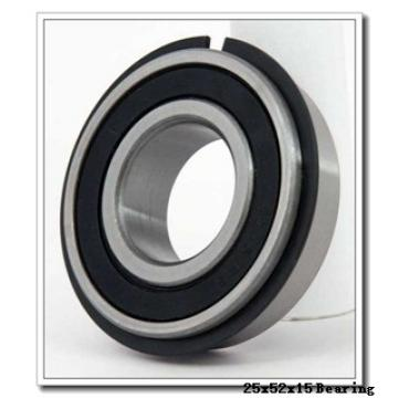 25 mm x 52 mm x 15 mm  KOYO NC7205V deep groove ball bearings