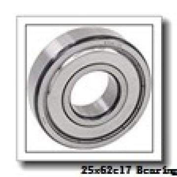 25 mm x 62 mm x 17 mm  FAG 1305-TVH self aligning ball bearings