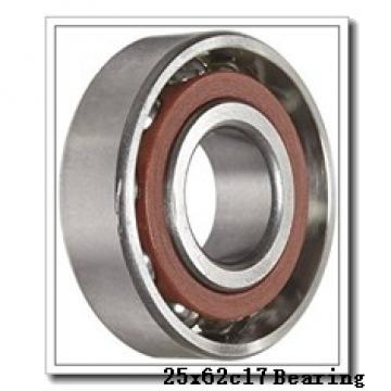 25 mm x 62 mm x 17 mm  NACHI 6305 deep groove ball bearings