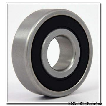 30 mm x 55 mm x 13 mm  NTN 7006UG/GNP4 angular contact ball bearings