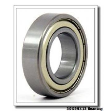 30 mm x 55 mm x 13 mm  FAG 6006-2Z deep groove ball bearings