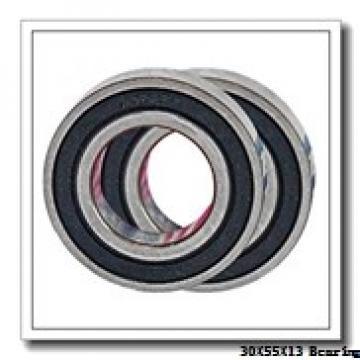 30 mm x 55 mm x 13 mm  ISO 6006 ZZ deep groove ball bearings