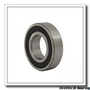 30 mm x 62 mm x 16 mm  KOYO 6206Z deep groove ball bearings