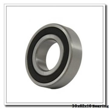 30 mm x 62 mm x 16 mm  ZEN P6206-SB deep groove ball bearings