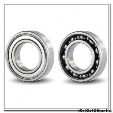 40 mm x 62 mm x 12 mm  NSK 40BER19H angular contact ball bearings