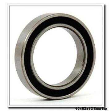 40 mm x 62 mm x 12 mm  NSK 40BER19S angular contact ball bearings