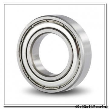 40 mm x 62 mm x 12 mm  NTN 7908DT angular contact ball bearings