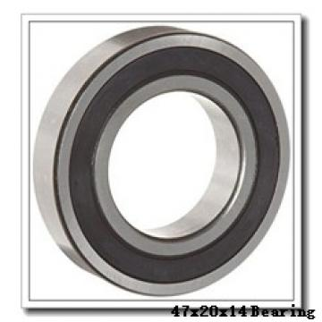 20 mm x 47 mm x 14 mm  SKF NUP 204 ECP thrust ball bearings