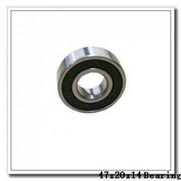 20 mm x 47 mm x 14 mm  SKF 7204 BECBM angular contact ball bearings