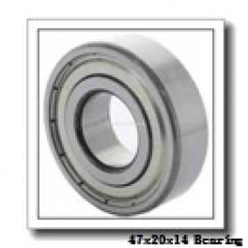 20 mm x 47 mm x 14 mm  SKF NJ 204 ECP thrust ball bearings