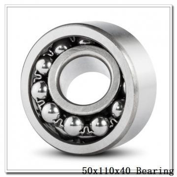 50 mm x 110 mm x 40 mm  NKE NUP2310-E-MPA cylindrical roller bearings