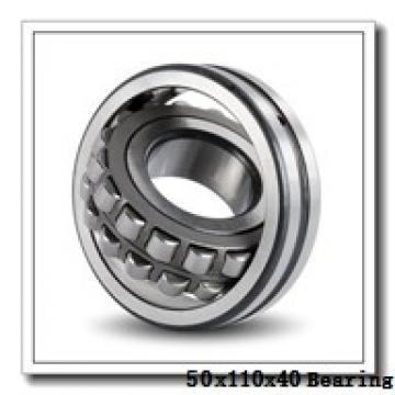 50 mm x 110 mm x 40 mm  NACHI NJ 2310 E cylindrical roller bearings