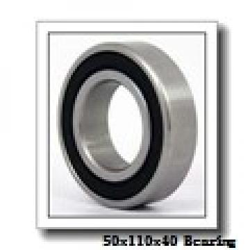 50 mm x 110 mm x 40 mm  NACHI NU 2310 cylindrical roller bearings