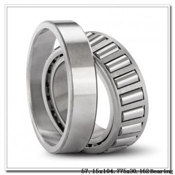 57,15 mm x 104,775 mm x 30,958 mm  Loyal 45291/45220 tapered roller bearings