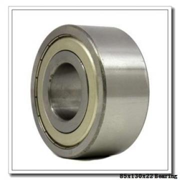 85 mm x 130 mm x 22 mm  KOYO 3NC HAR017C FT angular contact ball bearings