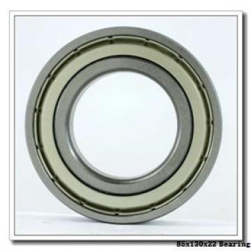 85 mm x 130 mm x 22 mm  NTN 2LA-BNS017ADLLBG/GNP42 angular contact ball bearings