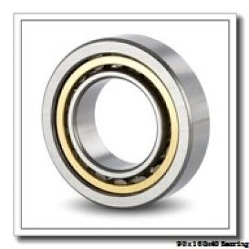 90 mm x 160 mm x 40 mm  NACHI NUP 2218 E cylindrical roller bearings