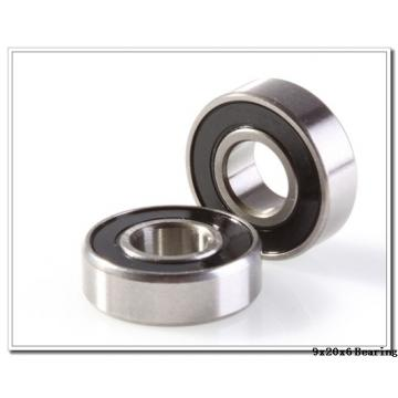 9 mm x 20 mm x 6 mm  KOYO F699 deep groove ball bearings
