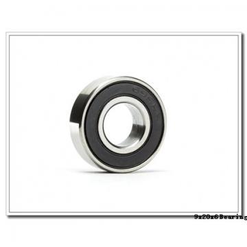 9 mm x 20 mm x 6 mm  ISO F699-2RS deep groove ball bearings