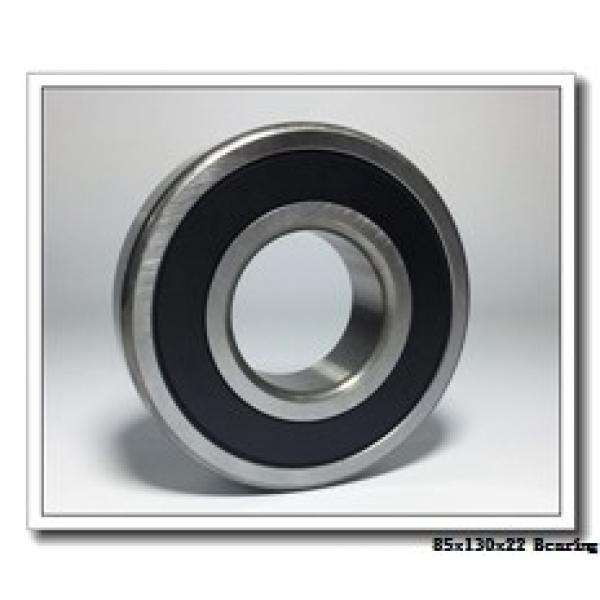 85 mm x 130 mm x 22 mm  NACHI 6017Z deep groove ball bearings #2 image